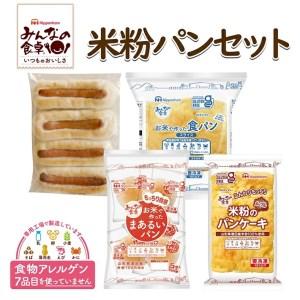 SA0015 みんなの食卓米粉パン詰め合わせセット