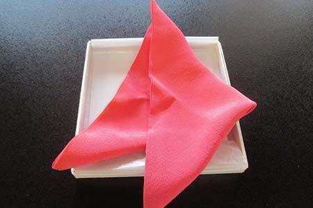 A61 紅染め茶袱紗