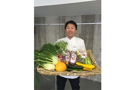 A119 旬のかほくイタリア野菜料理食事券(奥田シェフのお店の優先予約)