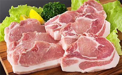A-028 やまがた豚ロース 約1.1kg(とんかつ・ソテー用)