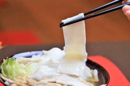 A-051 新食感の温肉帯麺(うどん)生麺5人前
