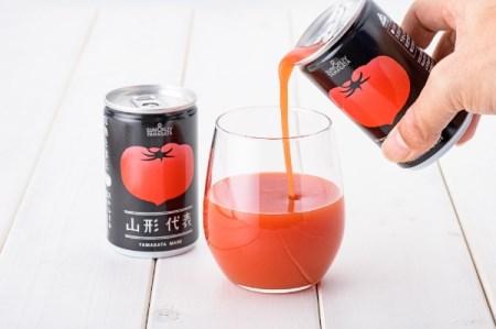 無塩トマトジュース 山形代表 完熟とまと160g×40本