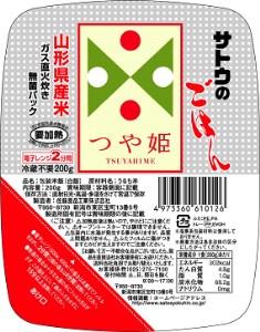 16-[15]山形県産つや姫無菌パック 200g×36パック