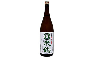 B_マルマス米鶴限定純米吟醸 1800ml