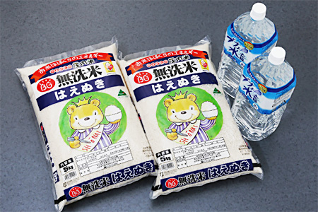 【A103】はえぬき無洗米10kgセット