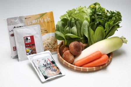 【B-202】産直直送!季節の野菜と加工品セット