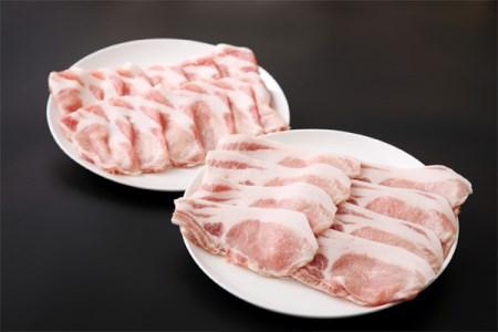 ブランド豚「三元豚」計1.1kg/生姜焼き・しゃぶしゃぶセット