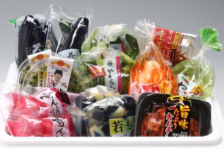 【A-62】マルハチお漬物セット