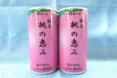 B-11:果汁100%ジュース「福島桃の恵み」  190g×30本