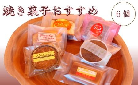 FN-0018 焼き菓子おすすめ6個入セット