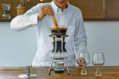 6.☆世界中で愛されるHARIOのコーヒーメーカー☆ コーヒーサイフォン ハリオ ソムリエ600ml(5杯用) SCA-5