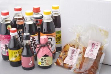 20. 江戸時代からの香りを感じる「木桶仕込」!天然醸造醤油と めんつゆ・焼肉たれ・たまり漬け詰合せ
