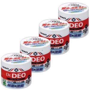 【カーメイト】DSD3×4個 除菌・消臭剤(無香タイプ)ドクターデオ 置きタイプ部屋用