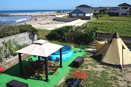 S-8広がる鹿嶋のビーチ『SeaSunrise』 手ぶらでBBQ(2人分)