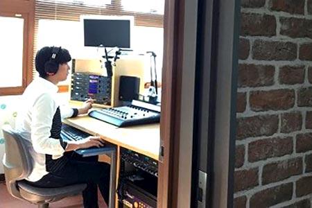 AD-4 『エフエムかしま』 音楽番組制作体験!!