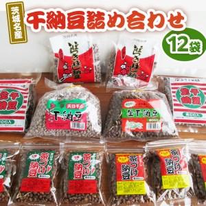 え-9 茨城名産 干納豆詰め合わせ (12袋)