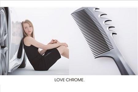 (244)日本初のヘアケア革命!美髪プロテクトコーム LOVECHROME NAMI P.BLK