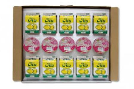 J039 栃木乳業Eセット(関東・栃木レモン&ご褒美ヨーグルトセット)