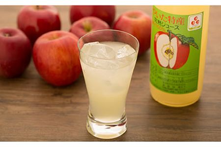 【2609-0061】栃木県矢板市産 樹上完熟100%りんごジュース 72ml×6本入