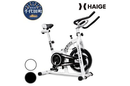 HG-YX-5006N2 スピンバイク (ホワイト) 5006A / トレーニング エクササイズ ダイエット 健康 コンパクト 群馬県 千代田町