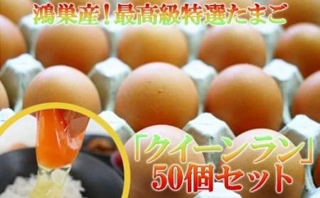 AB-1 ◆松村養鶏場◆最高級特選たまご「クイーンラン」50個セット