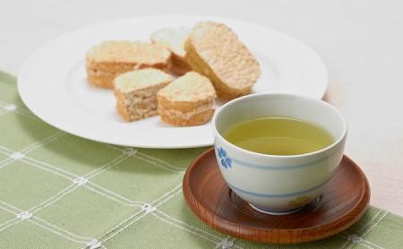 鳩山森のダックワーズとおいしい狭山茶健康スイーツセット
