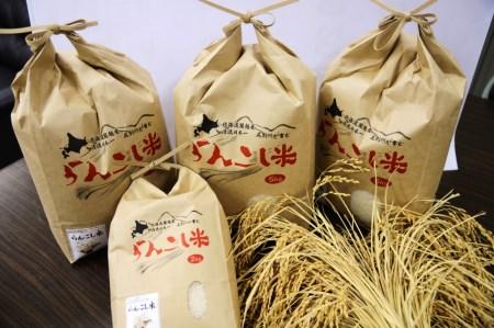 らんこし米(ゆめぴりか)60キロ(12回に分けて毎月お届け)