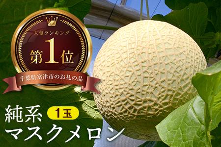 ◇【最高級】純系マスクメロン1玉(化粧箱入)