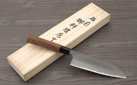 ◇伝統工芸士 安立作 三徳 170mm 白2鋼 桐箱入り
