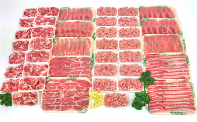 【2606-0186】里見和豚良い肉(4,129g)