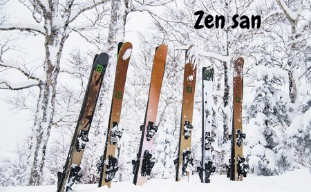 ハンドメイドスキー【Zen San】 スキー【Zen San】Mid