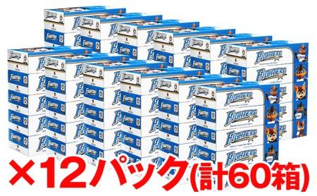 ≪納期:4~6ヶ月≫北海道日本ハムファイターズボックスティッシュ12パック(60箱)