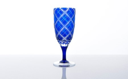 藍 和イングラス 業平格子