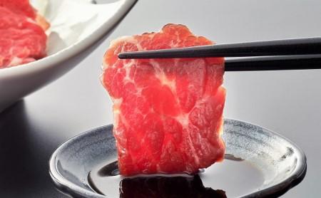 [№5940-0136]馬刺し&馬肉燻製 食べ比べセット