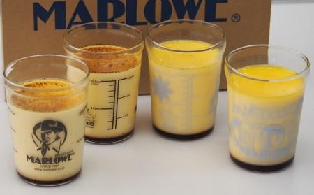 マーロウ【逗子限定】カスタードと一番人気の北海道フレッシュクリームプリン