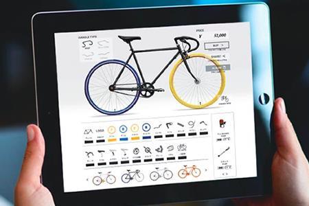 100-02Cocci Pedaleの世界で一台だけの自転車を作るクーポン券(030)