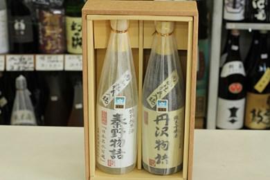 008-04小野酒店の丹沢物語純米吟醸酒・秦野物語特別純米酒(各720ml)