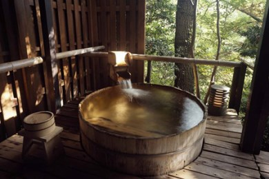 330-01jin 元湯陣屋の露天風呂付客室と本格・逸品会席料理を堪能一泊二食2名様プラン