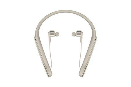 【2618-0008】ソニーワイヤレスノイズキャンセリングステレオヘッドセット WI-1000X/N シャンパンゴールド