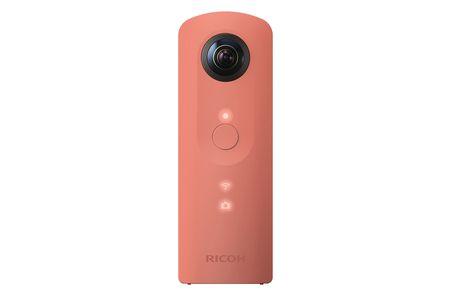 【2618-0021】リコー全天球カメラ THETA SC ピンク