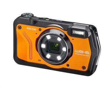 RICOH  デジタルカメラ WG-6 オレンジ