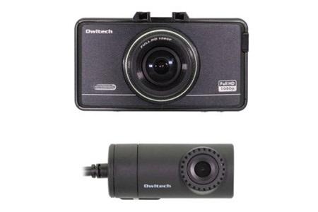 [№5826-0273]前後カメラ搭載ドライブレコーダーOWL-DR801G-2C
