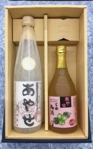 [№5820-0109]あやせ本醸造・梅酒セット