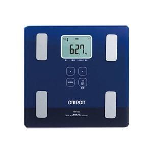 【2608-0015】オムロン 体重体組成計 両足測定タイプ(ブルー)