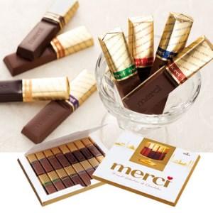 【2608-0026】メルシーゴールドチョコレート 6箱セット