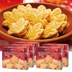 【2608-0029】メープルクリームクッキー 5箱セット