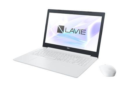 【2603-0030】NEC製 15.6型ノート[LAVIE Direct NS(カームホワイト)]