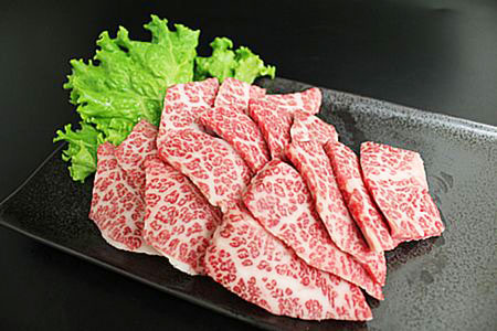 【2611-0031】足柄牛特選カルビ600g