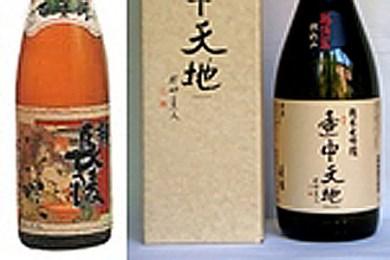 001-019E2 壺中天地 純米大吟醸越淡麗仕込み、長稜 百年樹