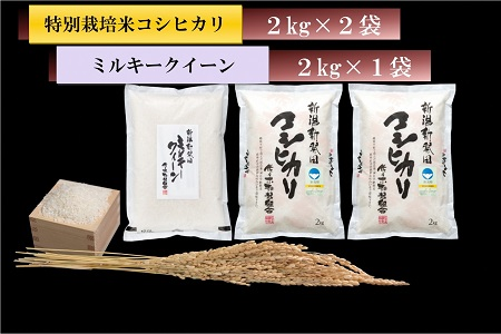 D07 【30年産米!新米!】こだわりのお米 食べ比べセット